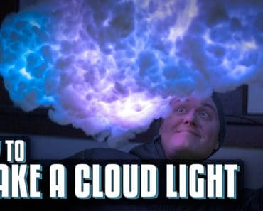 Cloud Lamp DIY with Items you Already Have