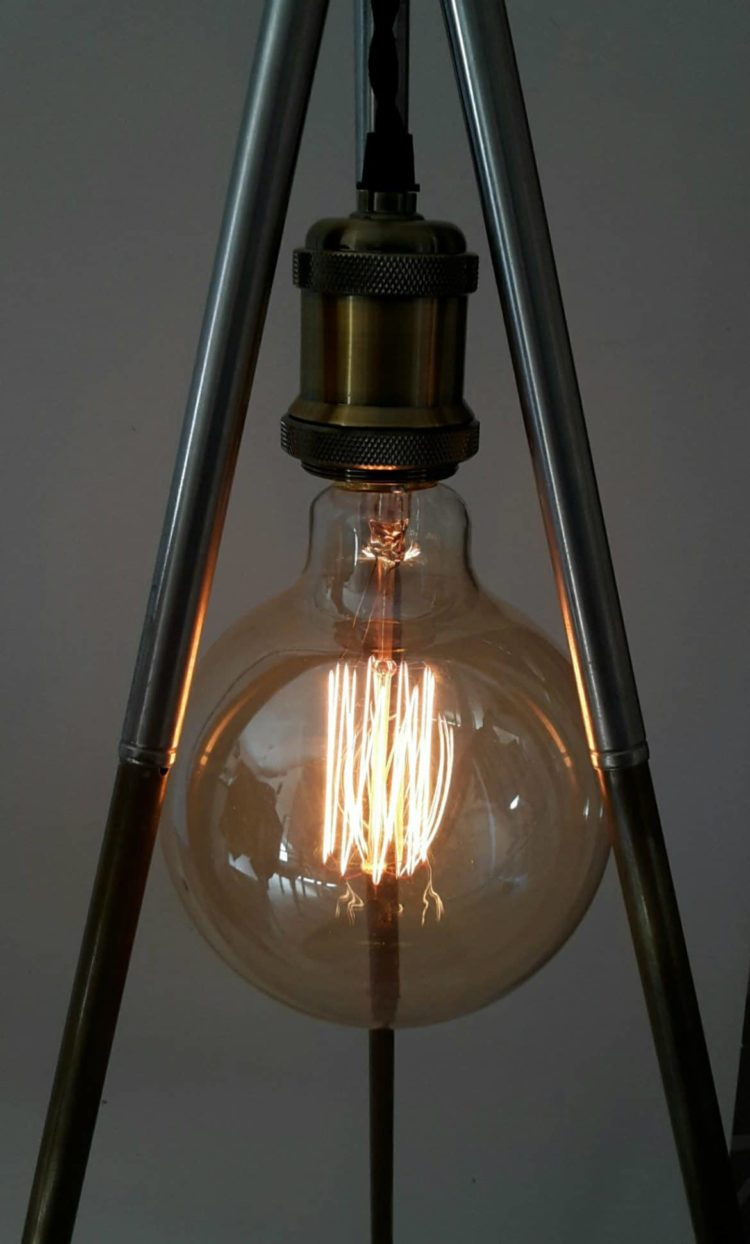 The incandescent bulb is a must for this setup, and completes the objects from the Soviet era nicely