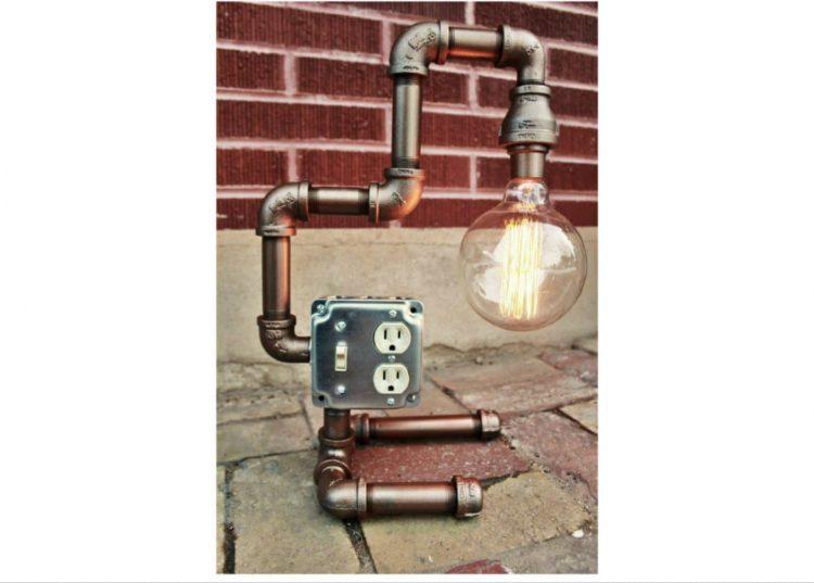 10 Amazing Steampunk Desk Lamps - table-lamps