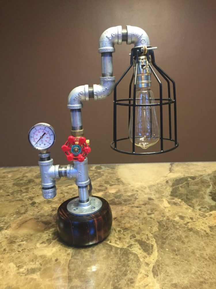 10 Amazing Steampunk Desk Lamps