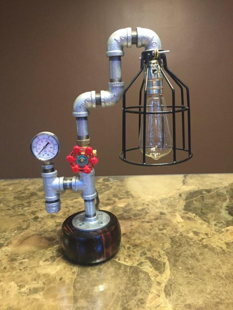 10 Amazing Steampunk Desk Lamps   Table Lamps