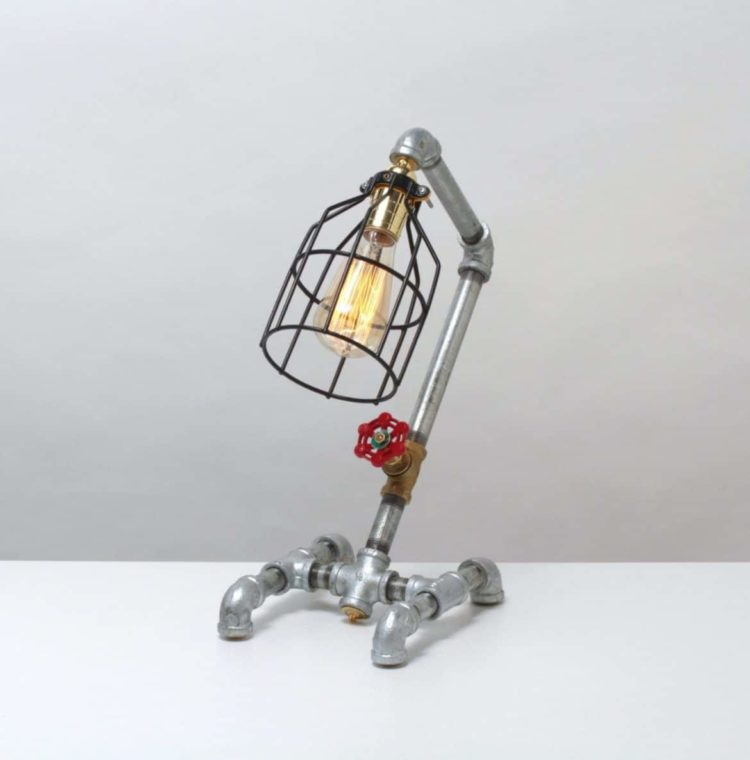 10 Amazing Steampunk Desk Lamps • iD Lights