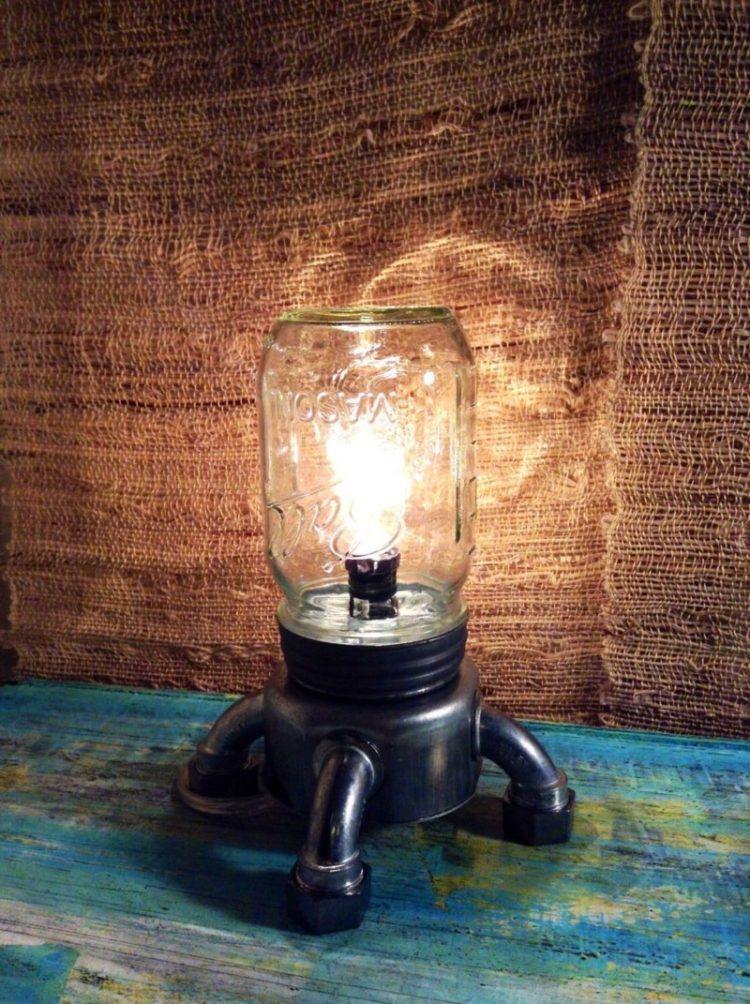 10 Amazing Steampunk Desk Lamps - table-lamps