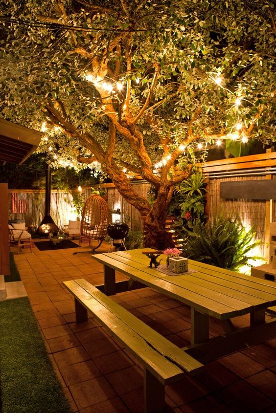 10 Outdoor Lighting Ideas For A Shabby Chic Garden #6 Is Lovely   Wood