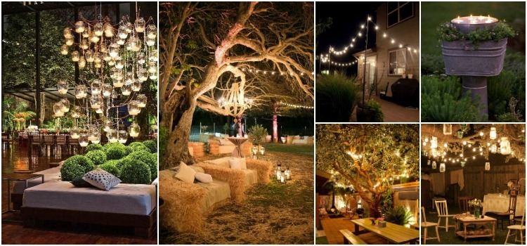10 Outdoor Lighting Ideas For A Shabby Chic Garden #6 Is
