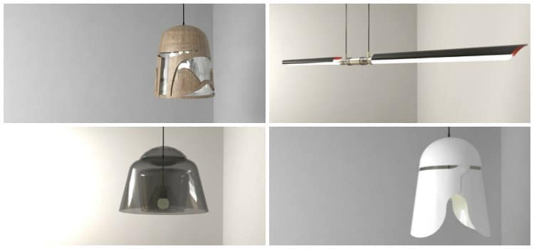 Amazing Star Wars Characters Pendant Lamps Id Lights