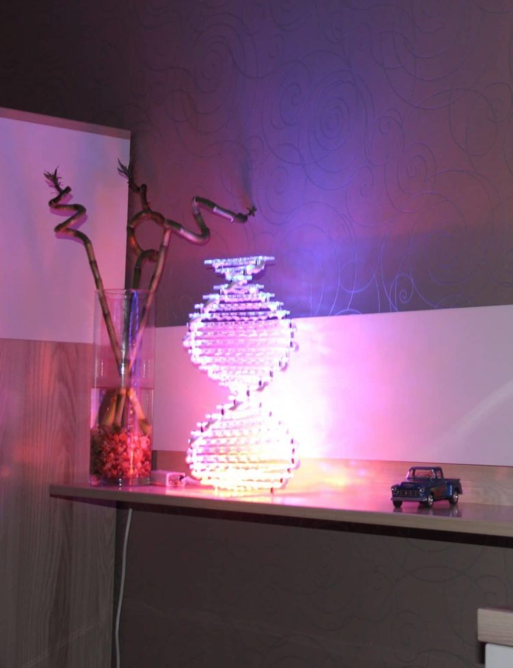 Spiral LED Desk Lamp - table-lamps