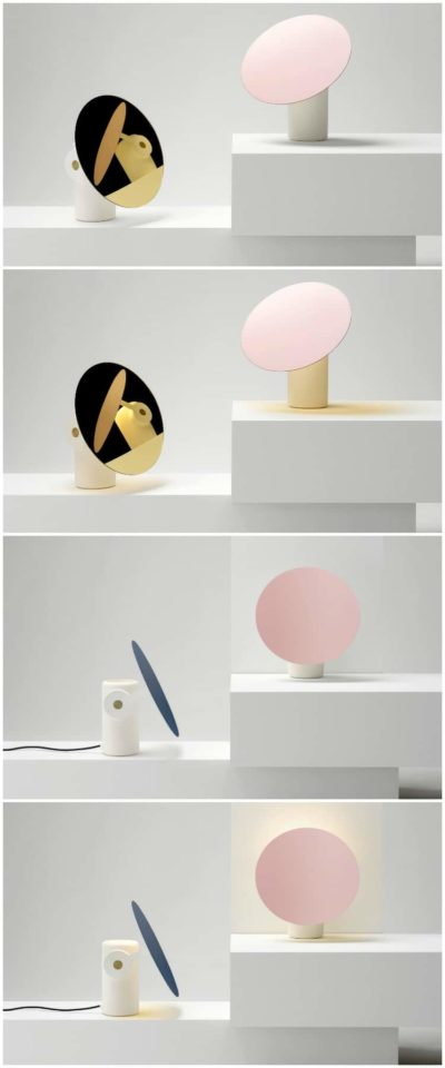 Design Polar Disk Desk Lamp