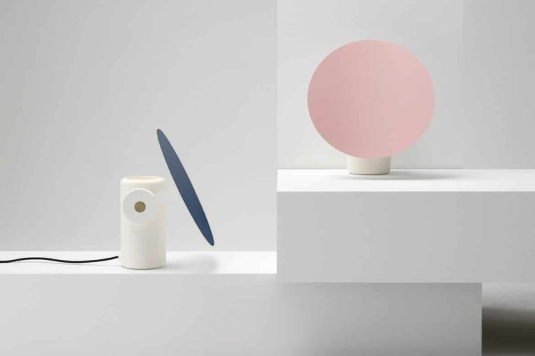 Design Polar Disk Desk Lamp - desk-lamps
