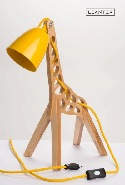 Handmade Kids Giraffe Lamps