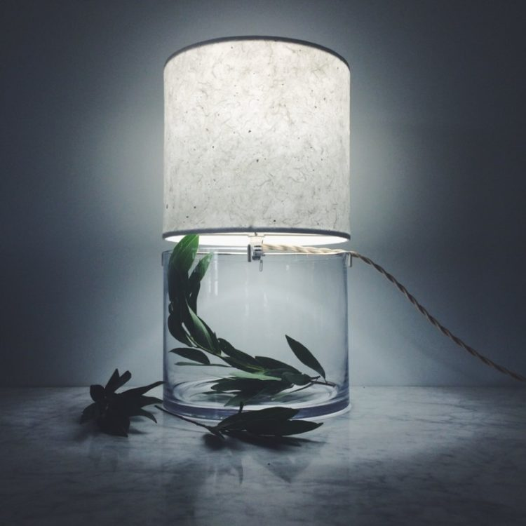 Handmade Terrarium Paper Table Lamp Id Lights