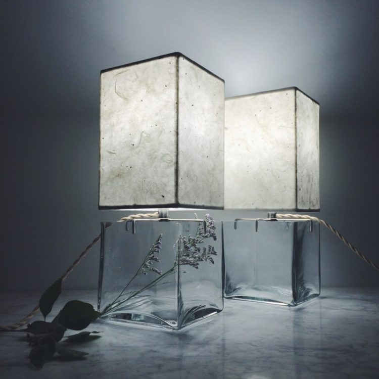Handmade Terrarium Paper Table Lamp Table Lamps