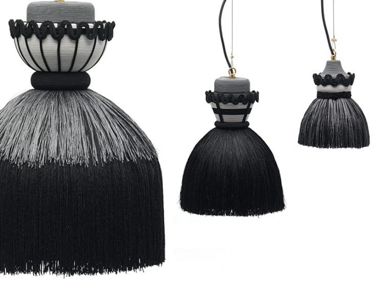 Madama Pendant Lamps Nineteenth Century Stiff Petticoat Inspiration Pendant Lighting