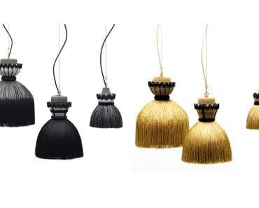 Madama Pendant Lamps Nineteenth Century Stiff Petticoat Inspiration