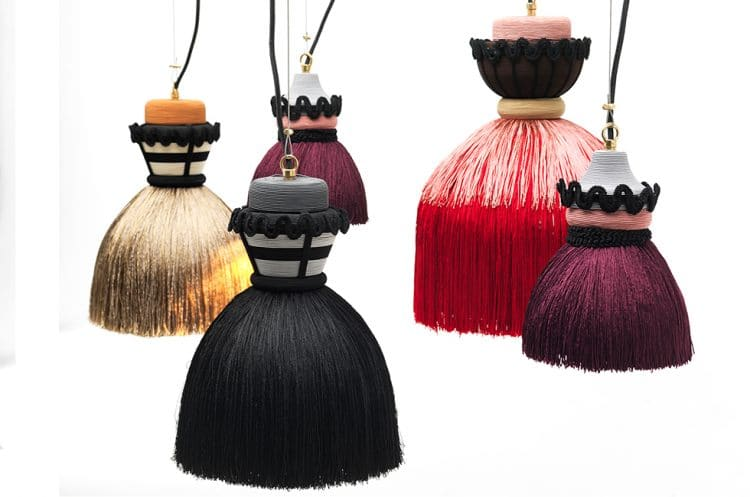Madama Pendant Lamps Nineteenth Century Stiff Petticoat Inspiration - pendant-lighting