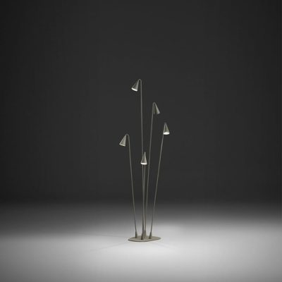 BRISA Simple Thin Design Floor Lamp