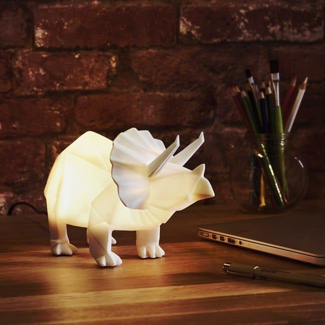 Friendly Bedside Dino Lamp Desk Lamps