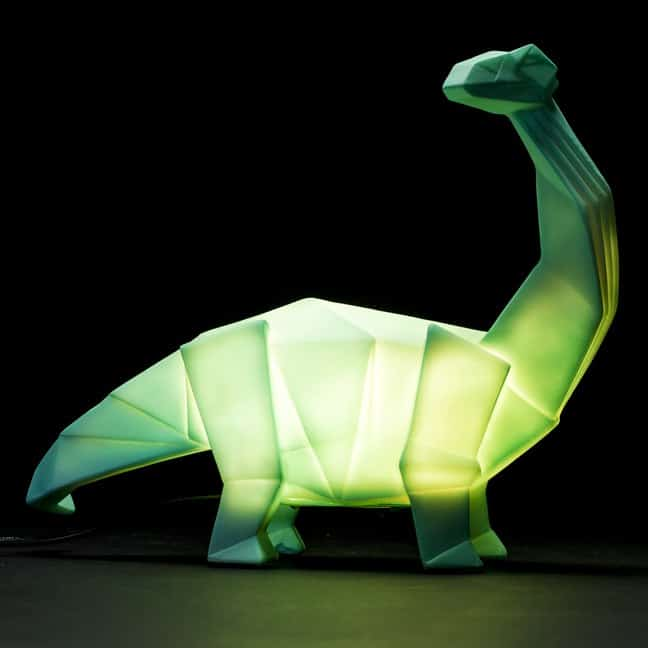 Friendly Bedside Dino Lamp Desk Lamps