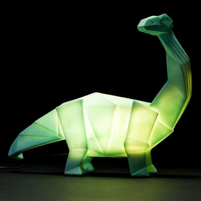 Friendly Bedside Dino Lamp