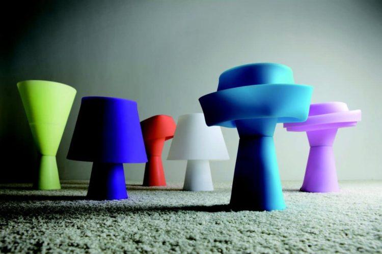 Numen Shape-Shifting Bedroom Table Lamp