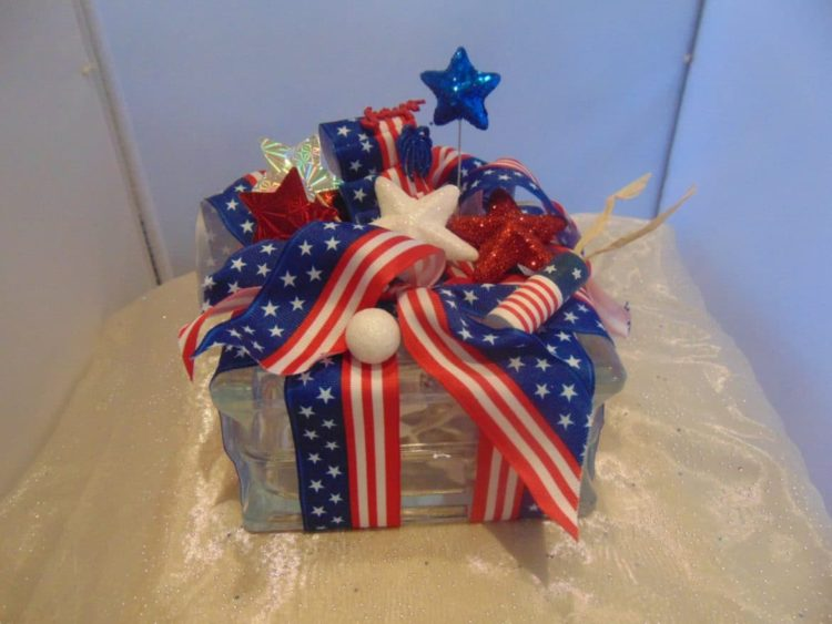 Patriotic 4th of July Lamps - table-lamps