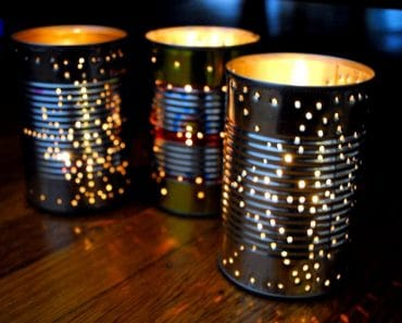 Recycle a Tin Can Into a Outdoor Lantern