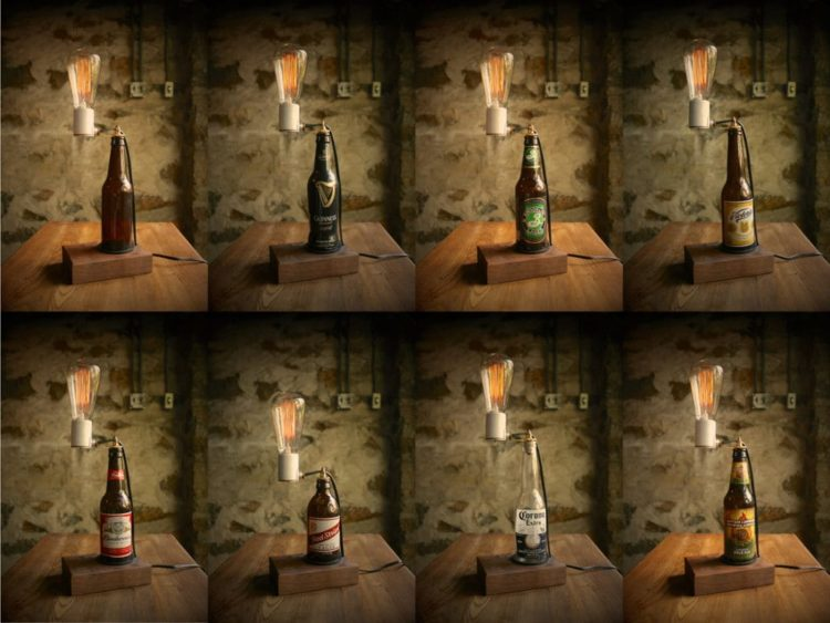 Amazing Beer Table Lamp Table Lamps