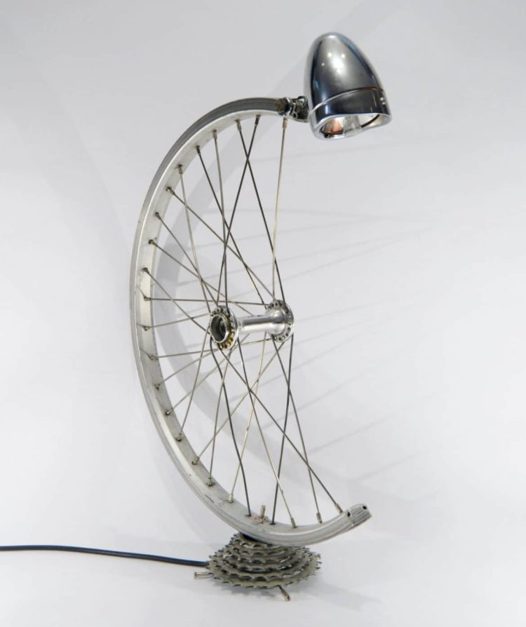 Bespoke Bicycle Desk Lamp - desk-lamps