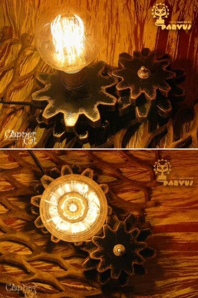Parvus Industrial Steampunk Table Lamp