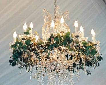 Vegetal Wedding Light Fixtures