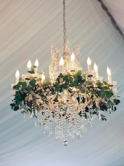Vegetal Wedding Light Fixtures