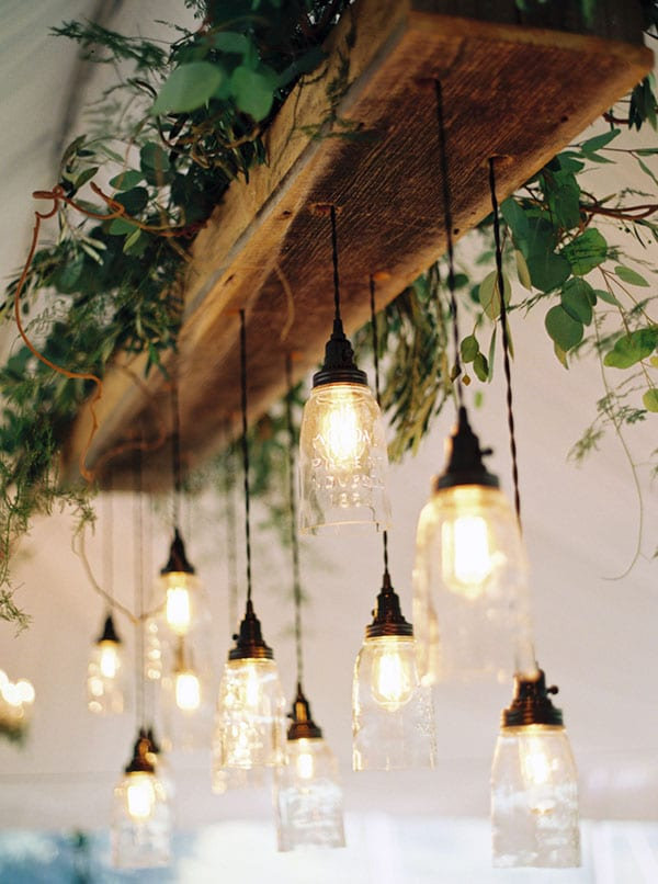 Vegetal Wedding Light Fixtures Id Lights