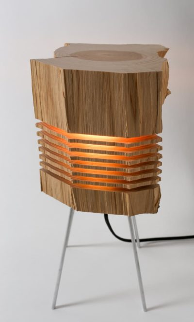 Beautiful Light Sculpture made with California Cedar Wood