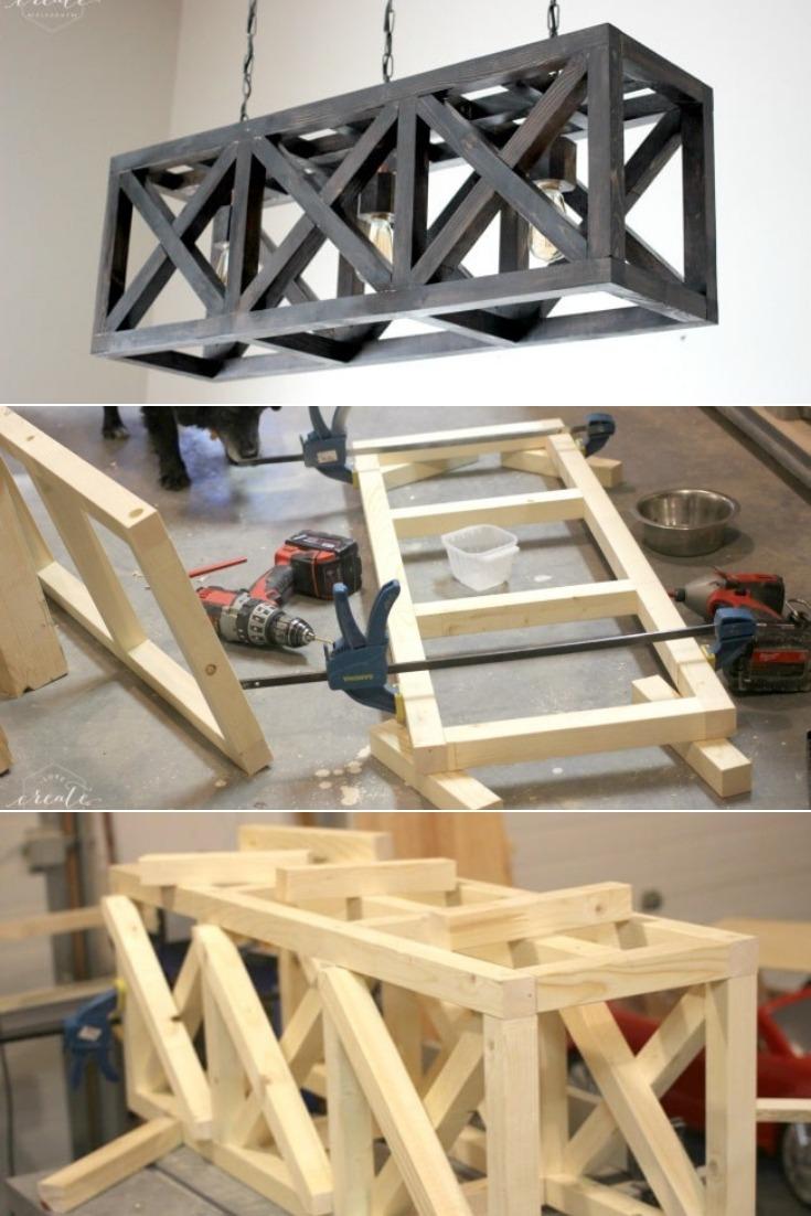How to Make an Industrial Light Fixture