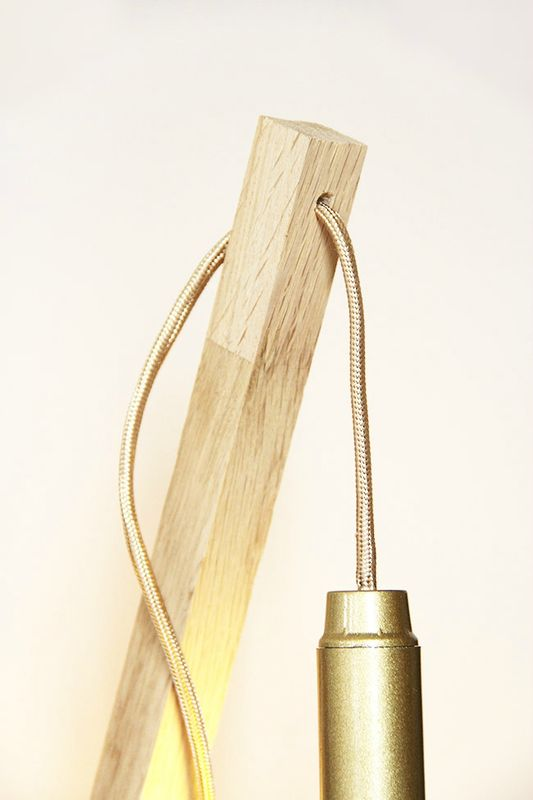 The Easiest Wood Lamp Tutorial