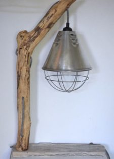 Diy How To Make A Driftwood Table Lamp Id Lights