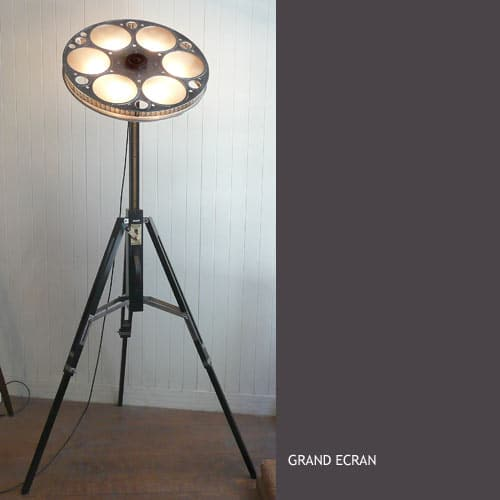 Recycled Art Lamps by LM Planquette Floor Lamps Table Lamps