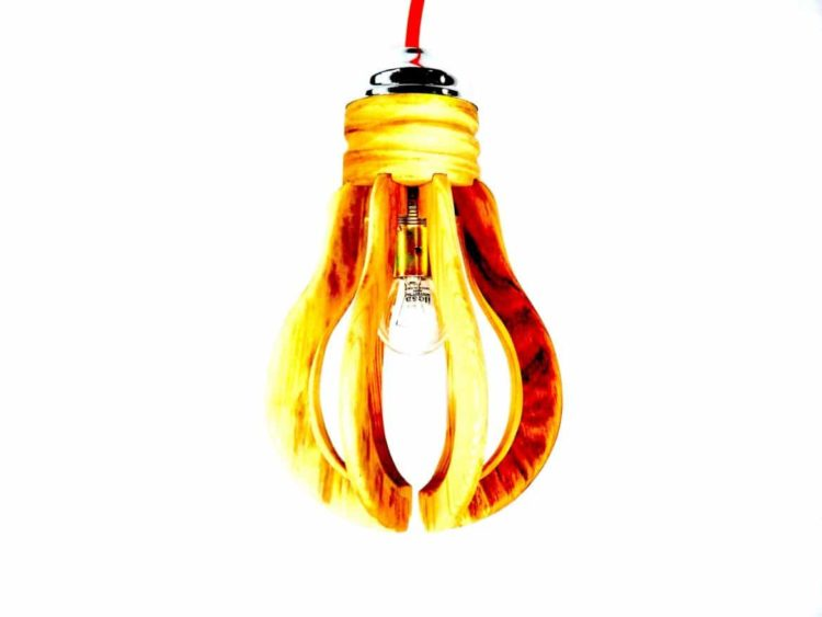 Huge Wooden Bulb Pendant Lighting Pendant Lighting Wood Lamps