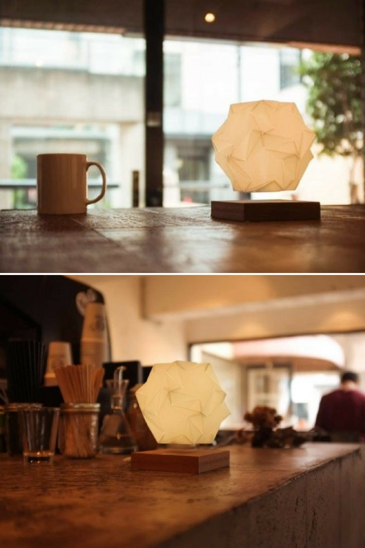 When a lamp is no longer just a lamp. Watch Glow spin as it floats in mid air and it\'ll beautifully set the mood in your place. We believe to have created a product that go beyond the norm of interior decoration. #bedside #concept #lamp #led #lighting #lightingdesign #metallic #modernlighting #woodworking
