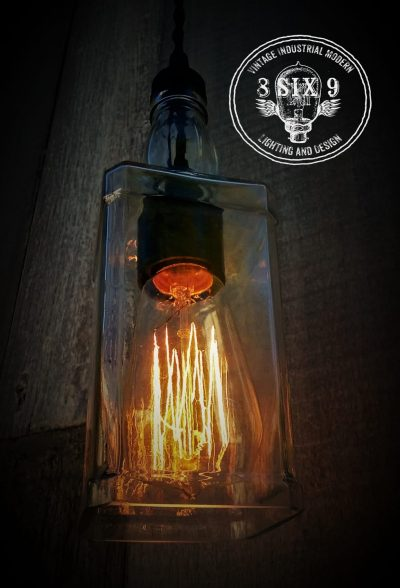 Whiskey Bottle Pendant Lighting