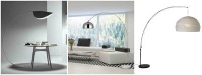 Original Arc Floor Lamps from IKEA