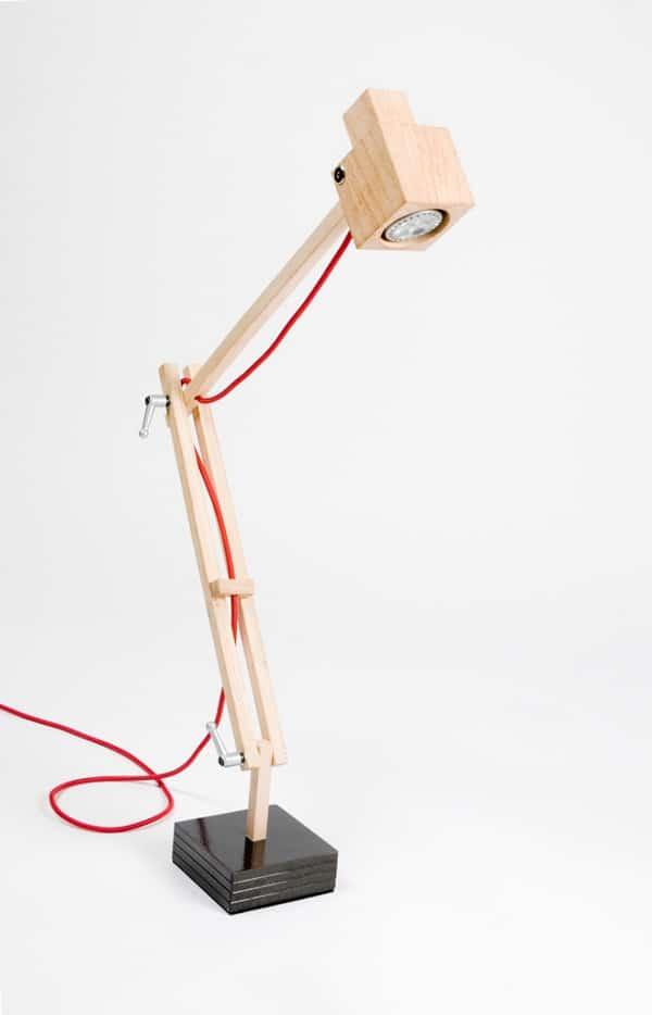 TreeWood Architect Lamp - desk-lamps