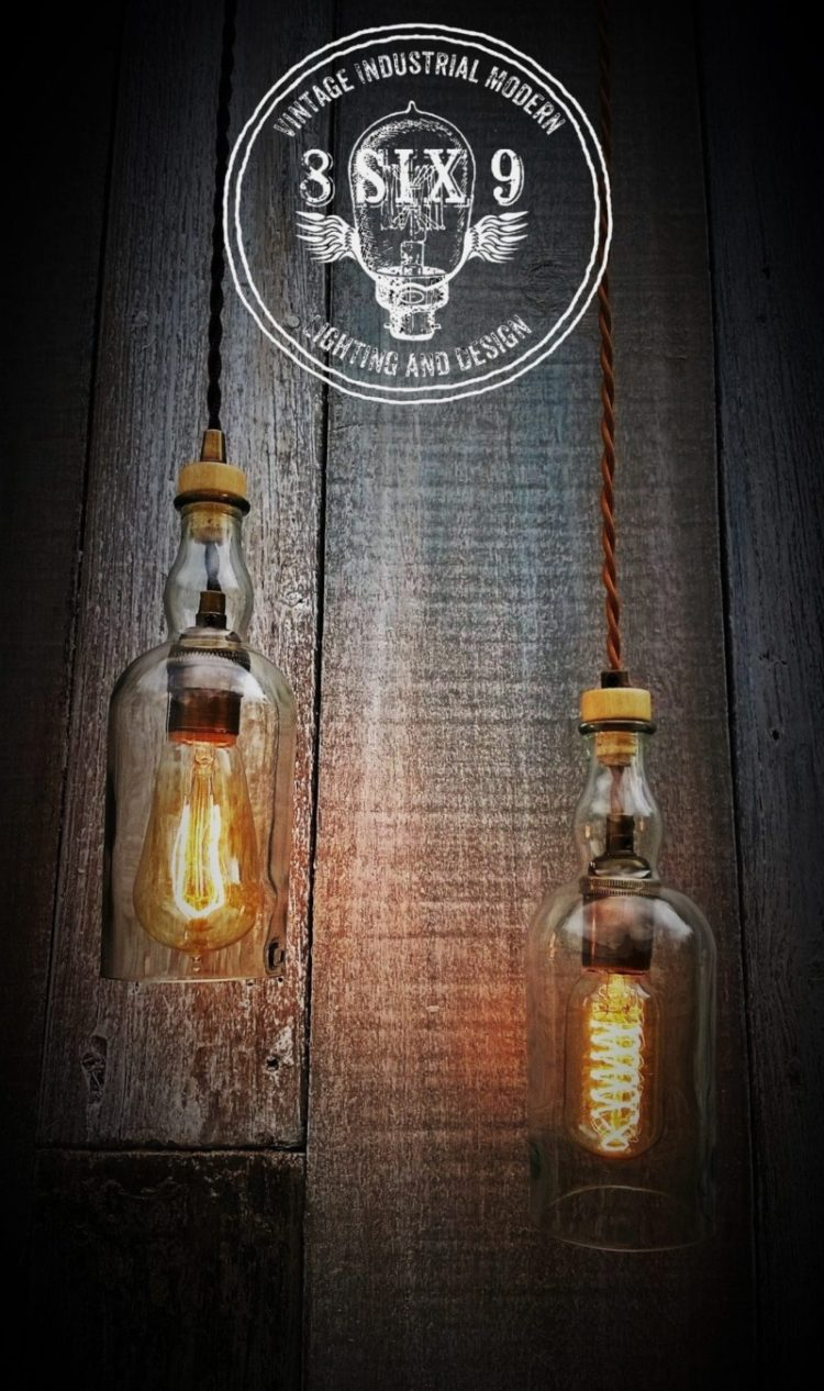 Balvenie Whiskey Bottle Pendant lighting - pendant-lighting