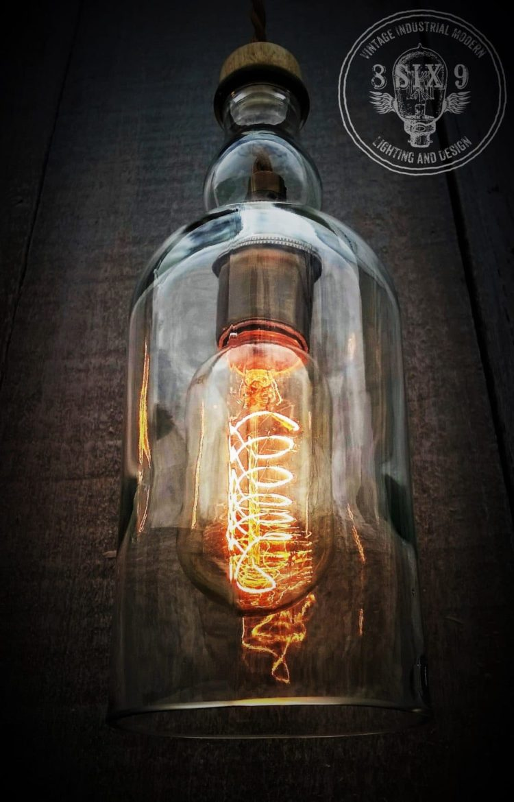 Balvenie Whiskey Bottle Pendant lighting Pendant Lighting