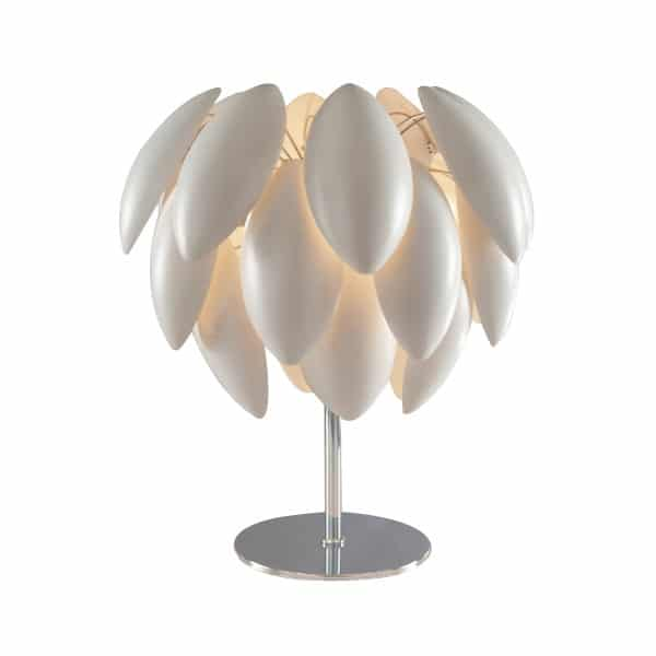 Chrome Luna Design lamp - table-lamps