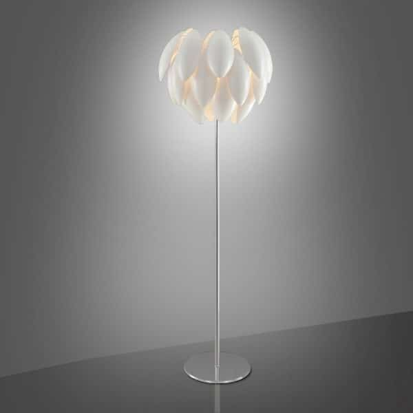 Chrome Luna Design lamp - table-lamps