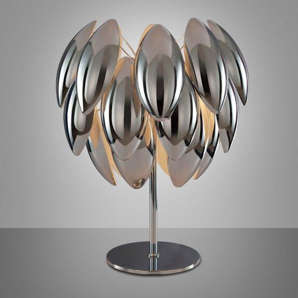 Chrome Luna Design lamp Table Lamps