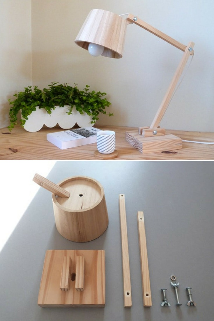 To make this Scandinavian wooden lamp, you will need. #bedside #diylighting #handmadelighting #hugelighting #lamp #lampshade #lighting #lightingdesign #recycle #tutorial #woodlamp #woodworking