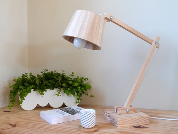 How To Make A Scandinavian Wood Lamp Desk Lamps
