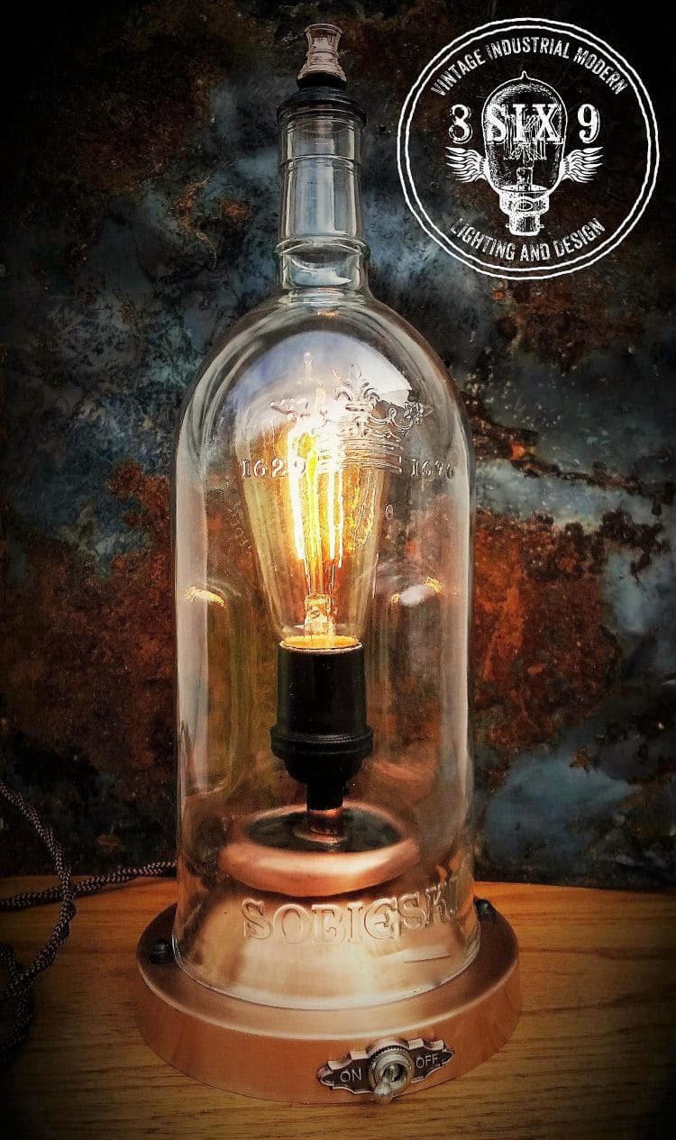 Sobieski 1696 Steampunk Desklamp Desk Lamps